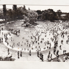 Bnk cp Oradea - Baile Felix - Strandul - uzata - Carte Postala Crisana dupa 1918, Circulata, Printata