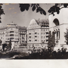 Bnk cp Timisoara - Piata Operei - uzata - Carte Postala Banat dupa 1918, Circulata, Printata