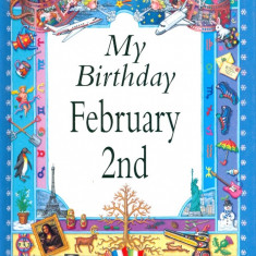 My Birthday February 2nd - Carte astrologie