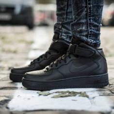 Nike Air Force 1 MID 07 - Adidasi barbati Nike, Marime: 41, 42, 42.5, 43, Culoare: Alb, Negru