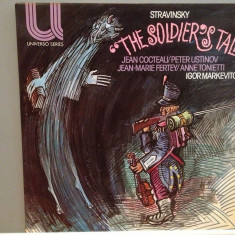 STRAVINSKY - THE SOLDIER'S TALE - I.MARKEVITCH(1963/PHILIPS/RFG) - VINIL/Ca NOU - Muzica Clasica universal records
