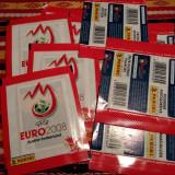 10 plicuri sigilate PANINI EURO 2008