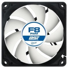 Ventilator Arctic F8 PWM PST REV.2 80mm, 850-2000rpm, AFACO-080P0-GBA01 - Cooler PC