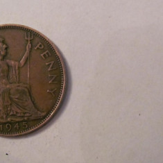 CY - Penny 1945 Marea Britanie Anglia, Europa
