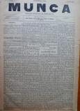 Ziarul Munca , organ social-democrat , an 1 ,nr. 2 ,1890 , I. Nadejde , C. Mille
