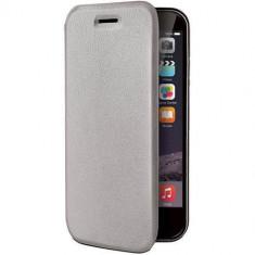 Husa Flip Cover Celly 107430 Folio Case gri pentru Apple iPhone 6 - Husa Telefon Celly, iPhone 6/6S