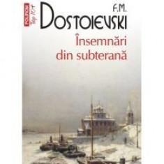 Insemnari din subterana - F. M. Dostoievski - Roman