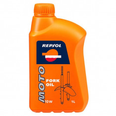 Ulei furca/amortizoare REPSOL Moto Fork Oil, 10W, 1l - Produs intretinere moto