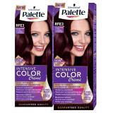 Pachet promo PALETTE Intensive Color Creme RFE3 Brun violet, 2 x 110ml