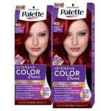 Pachet promo PALETTE Intensive Color Creme RI5 Rosu Aprins, 2 x 110ml