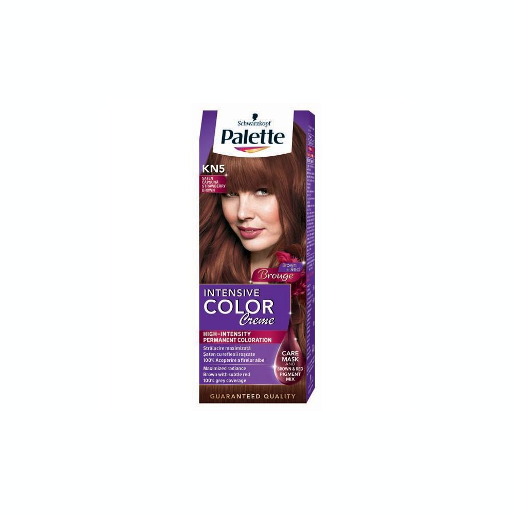 Vopsea De Par Palette Intensive Color Creme Kn5 Saten Capsuna 110ml