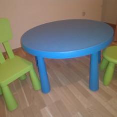 Masa, scaun și taburet Mammut - Masuta/scaun copii Altele