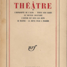 Eugen Ionesco - Theatre - vol. II - 1969 - Carte Teatru, Polirom