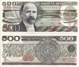 MEXIC 500 pesos 1984 - serie EC UNC!!!