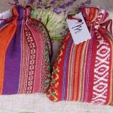 Săculeț textil umplut cu lavandă