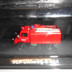Macheta pompieri VLF Unimog S 404 scara 1:72 - Macheta auto