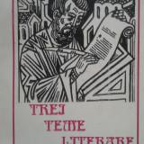 "Mihai Stere Derdena, ""Trei teme literare"""