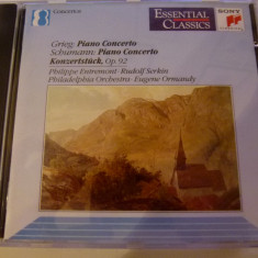 Grieg, Schumann - Piano Co. - Rudolf Serkin - cd - Muzica Clasica sony music