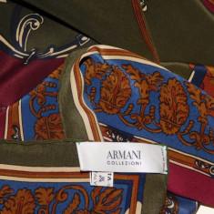 ARMANI - ESARFA ORIGINALA MATASE NATURALA SPECTACULOASA - Esarfa, Sal Dama Armani, Culoare: Din imagine, Marime: Marime universala