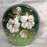 Vaza vintage, portelan decorat manual Wallendorf