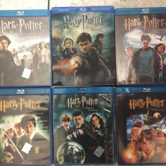 Colectia Harry Potter Blu Ray - Film Colectie warner bros. pictures, Romana