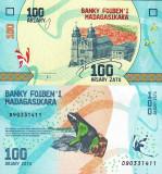 MADAGASCAR 100 ariary ND (2017) UNC!!!