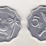 Bnk mnd Anjouan 5 franci 2008 unc, Africa