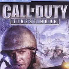 Call of Duty - Finest Hour - PS2 [Second hand] - Jocuri PS2, Shooting, 3+, Multiplayer