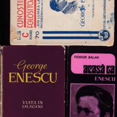 George Enescu 12 carti - Carte Arta muzicala