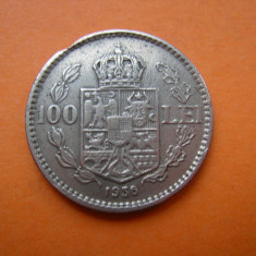 100 LEI 1936 - Moneda Romania