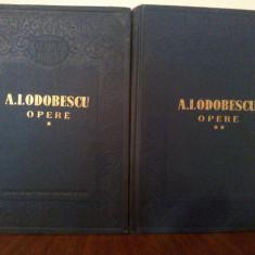 Alexandru I. Odobescu - Opere (ESPLA)- 2 volume