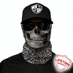 Bandana/Face Shield/Cagula/Esarfa - Hallow Head, made in USA, Marime: Masura unica, Culoare: Din imagine