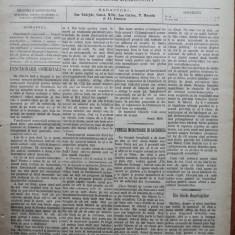 Ziarul Munca , organ social-democrat ,an 1 ,nr. 14 ,1890 , I. Nadejde , C. Mille