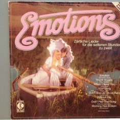 EMOTIONS - VARIOUS ARTISTS: E.JOHN, J.DASSIN....etc(1979/K-TEL/RFG) -VINIL/ca NOU - Muzica Pop rca records