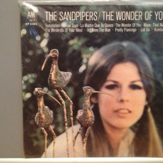 THE SANDPIPERS - THE WONDER OF YOU (1974/A & M rec/USA) - VINIL/Analog/VINYL - Muzica Pop universal records