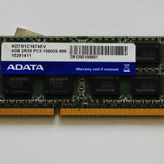 Memoria ram laptop ddr3 4 Gb ADATA - Memorie RAM laptop
