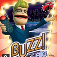 Buzz - The big quiz - PS2 [Second hand] - Jocuri PS2, Board games, Toate varstele, Multiplayer