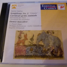 Saint-Saens - Carnaval of the Animals, Danse macabre - cd - Muzica Clasica sony music