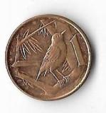 Moneda 1 cent 2002 - Cayman, America Centrala si de Sud