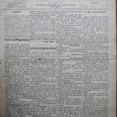 Ziarul Munca , organ social-democrat , an 1 ,nr. 8 ,1890 , I. Nadejde , C. Mille