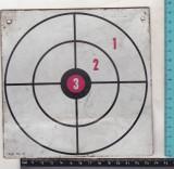 bnk jc Romania - tinta metalica pentru pistol cu ventuze