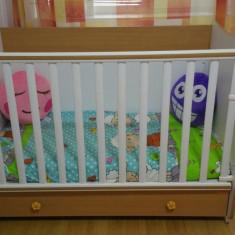 Patut cu saltea - Patut lemn pentru bebelusi, Alte dimensiuni, Altele
