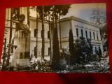 Ilustrata - Nasaud - Liceul George Cosbuc , cca. 1960, Necirculata, Fotografie
