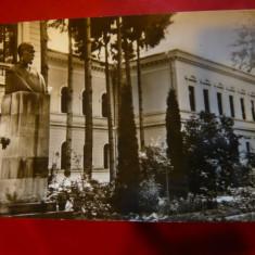 Ilustrata - Nasaud - Liceul George Cosbuc, cca. 1960 - Carte Postala Transilvania dupa 1918, Necirculata, Fotografie