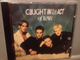 CAUGHT IN THE ACT OF LOVE (1995/ZYX /Germany) - CD NOU/Sigilat/Original/DISCO