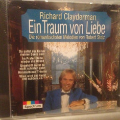 RICHARD CLAYDERMAN - DREAM OF LOVE (1988/SPECTRUM/RFG) - CD NOU/Sigilat/Original - Muzica Clasica universal records