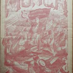 Ziarul Munca , organ social-democrat , an 1 ,nr. 9 ,1890 , I. Nadejde , C. Mille