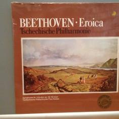 BEETHOVEN - EROICA cu Tschechische Philh.(1968/EURODISC/RFG) -disc VINIL/SIGILAT - Muzica Clasica ariola
