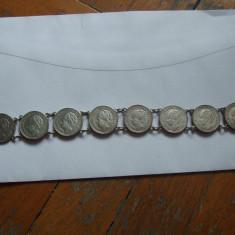 JN. Bratara din monede de 25 centi Olanda, argint, Europa, An: 1941