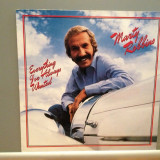 MARTY ROBBINS - EVERYTHING I'VE.... (1981/CBS/RFG) - VINIL/Analog/Country/ca NOU